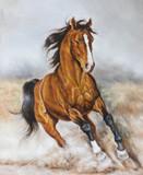 malowanie galopującego konia - 68326462