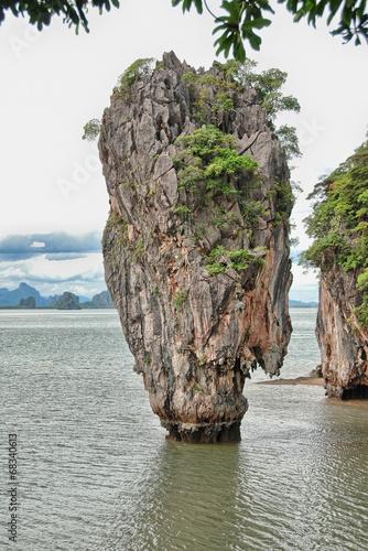 Phang Nga Bay, James Bond Island, Thailand - 68340613