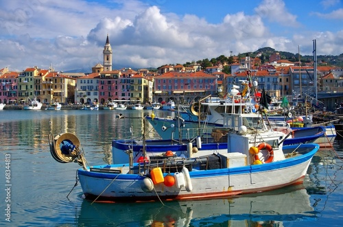 Photo sur Aluminium Ligurie Imperia 01