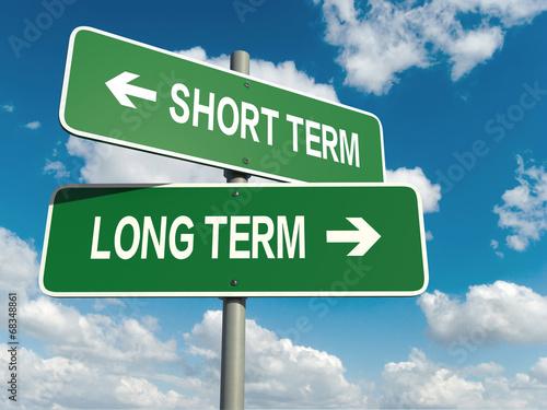 Fényképezés  short term long term