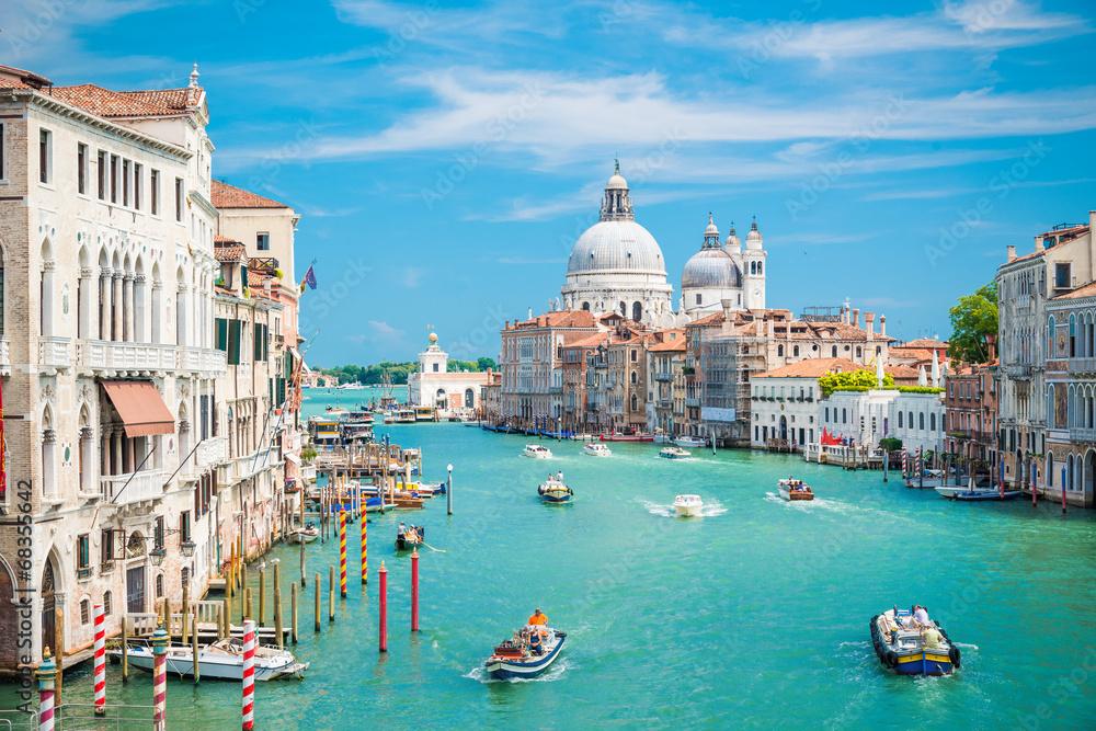 Fototapety, obrazy: Wenecja, błękitna laguna
