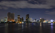 Bangkok skyline at night, Thailand