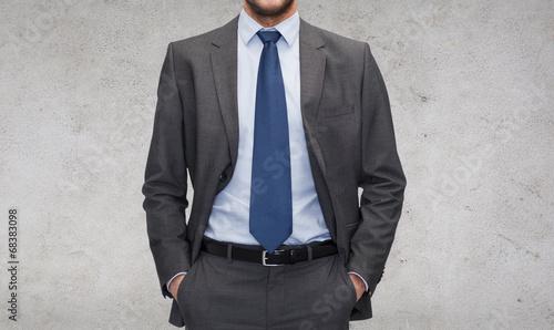 Cuadros en Lienzo buisnessman in suit