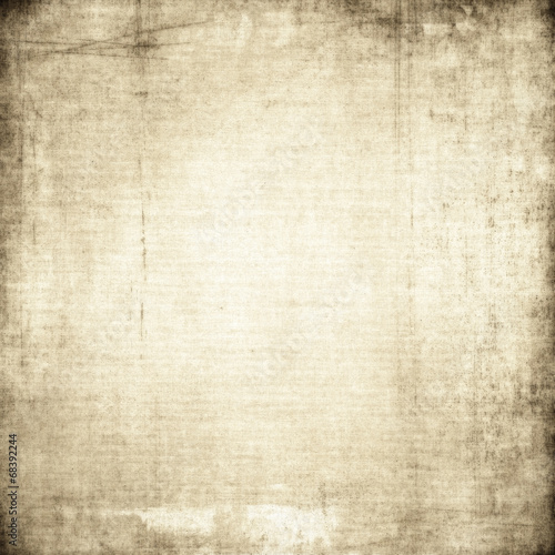Fotobehang Stof Canvas texture with sctrached background
