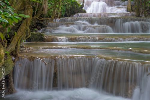 Huay Mae Kamin waterfall,Thailand © skazzjy