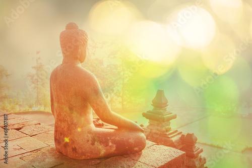 Foto op Plexiglas Indonesië Borobudur