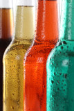 Butelki z napojami