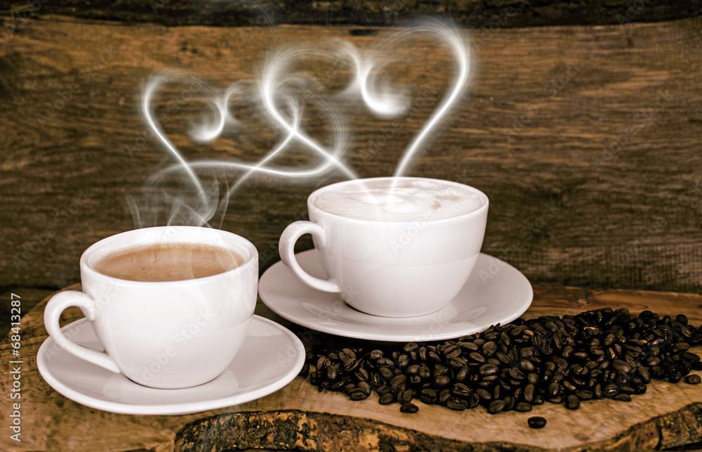 Photo Art Print Guten Morgen Liebe Zu Kaffee Und