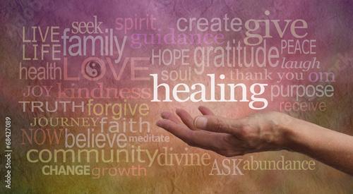Photo  Gentle Healing Words
