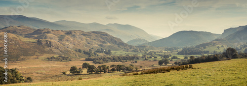 Obraz A valley in the Lake District, UK - fototapety do salonu