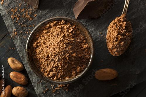 Fotografie, Obraz  Raw Organic Cocoa Powder