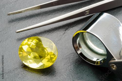 Gemstone and tools