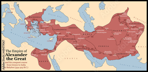 Photo Alexander the Great Empire