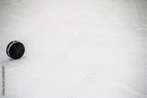 Eishockey Puck Poster