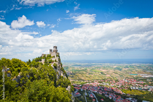Fotografie, Obraz  Rocca della Guaita, the most ancient fortress of San Marino, Ita
