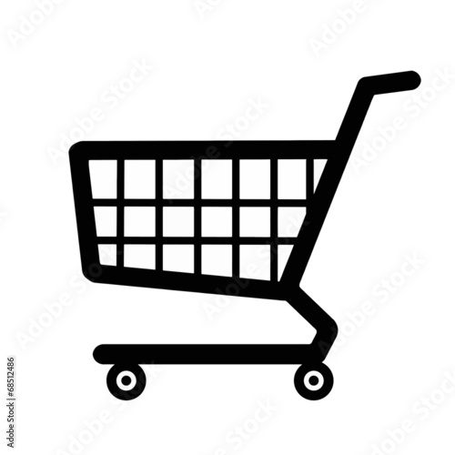 Fotografía  Shopping cart icon