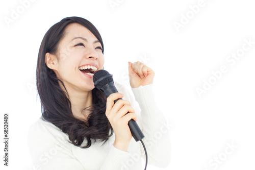 Láminas  歌う女性