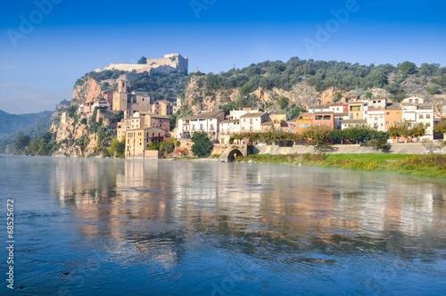 Miravet, Mediterranean town, Tarragona (Spain)