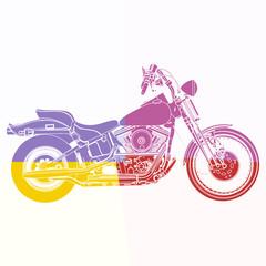 Fototapeta Motor Moto sportster
