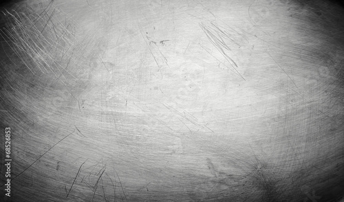 In de dag Metal Metal plate steel background
