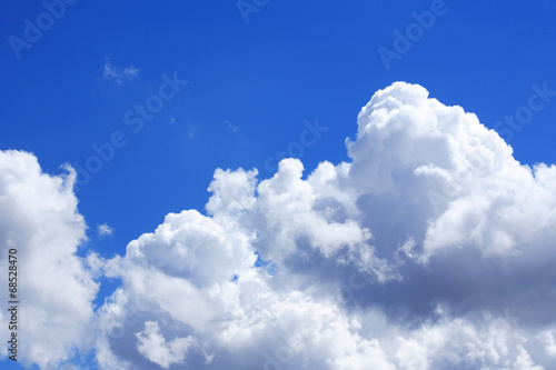 Sky With Clouds Wallpaper Mural