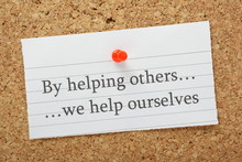 By Helping Others We Help Ours...