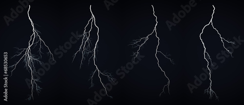 Fotomural Lightning bolt