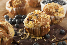 Homemade Blueberry Muffins For...