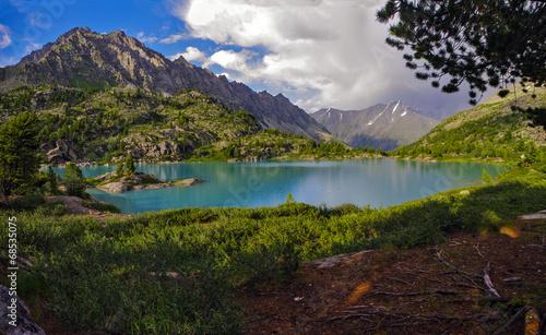 lake Daraskol, Altai