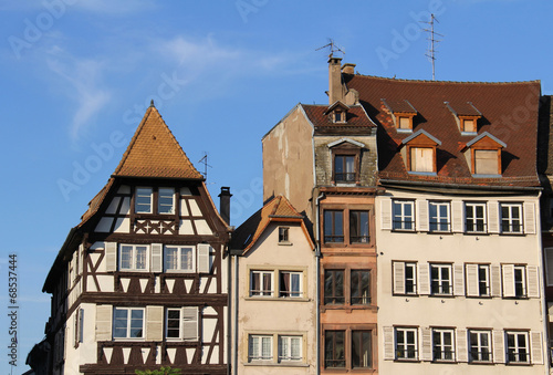 Photo Stands Strasbourg architecture (Alsace, France)