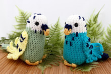 Two Handcrafted Toy Crocheted ...
