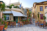 Fototapeta Na drzwi - The scenic cafe
