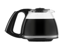 Filled Coffee Pot Isolated Against A White Background