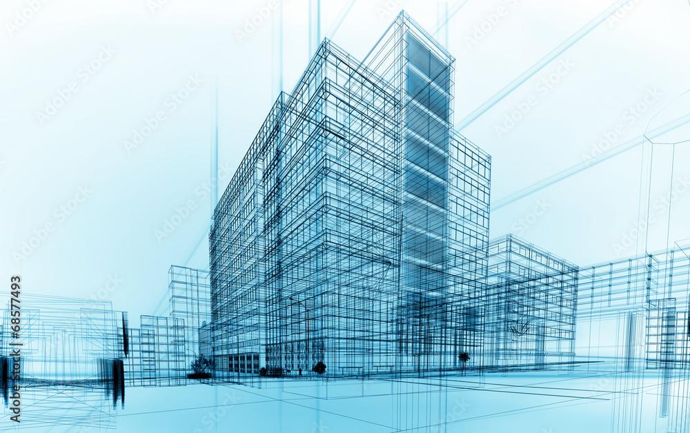 Fototapety, obrazy: architecture