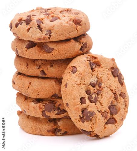 Garden Poster Cookies Chocolate homemade pastry cookies