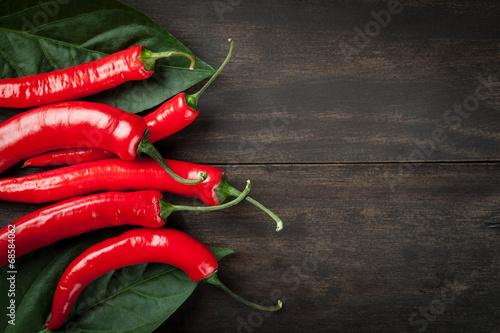 Fotografie, Obraz  Chilli papričky