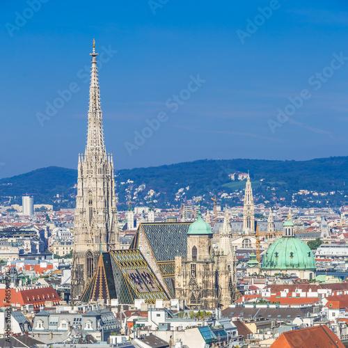 Spoed Fotobehang Wenen Stephansdom, Vienna