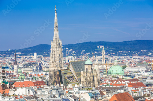Vienna city centre and Stephansdom