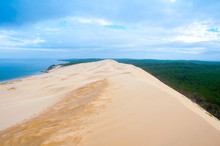 The Great Dune Of Pyla, Arcachon (France)