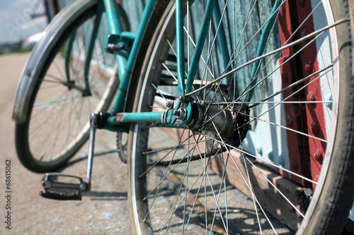 Tuinposter Fiets bikes,vintage