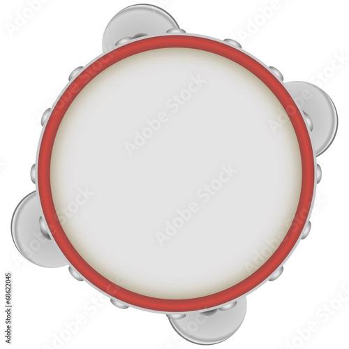 Obraz na plátně Tambourine