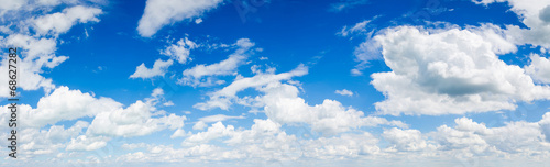 Fotobehang Hemel blue sky background with clouds