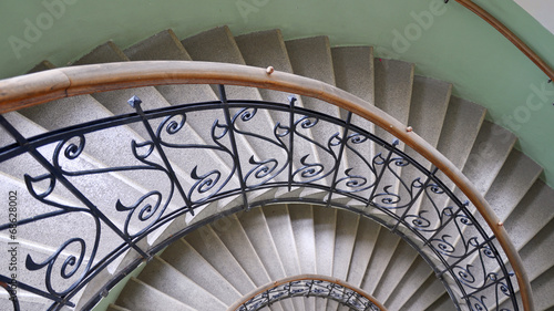 Valokuvatapetti treppe