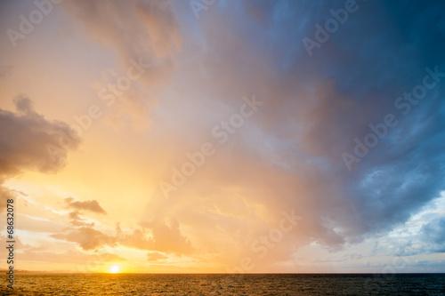 Fototapety, obrazy: Sunrise on the sea
