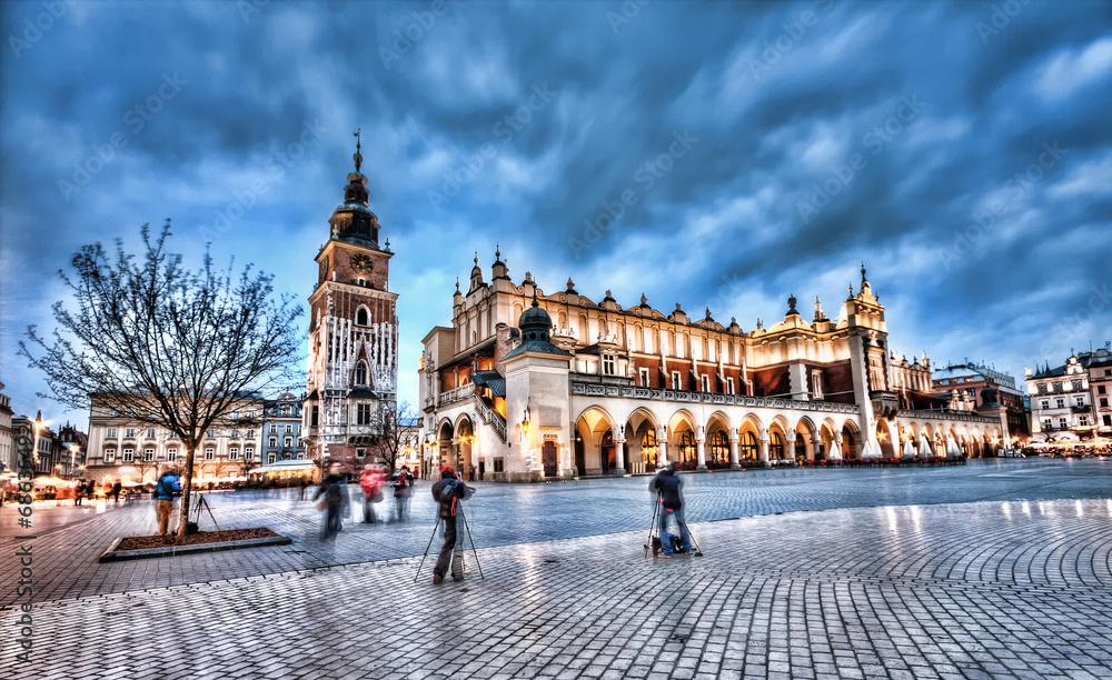 Fototapety, obrazy: Rynek główny w Krakowie