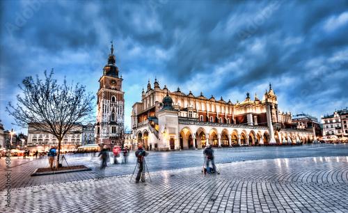 obraz PCV Rynek Główny w Krakowie