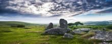 Granite Blocks At Dartmoor Nat...