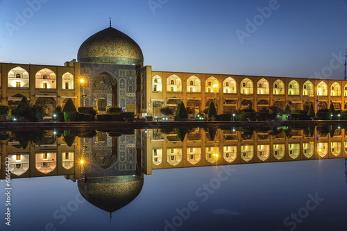 Photo  Sheikh lotf allah mosque in Isfahan Iran