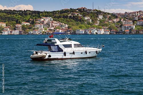 Deurstickers Australië yacht