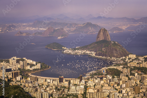 Photo Panorama of Rio de Janeiro